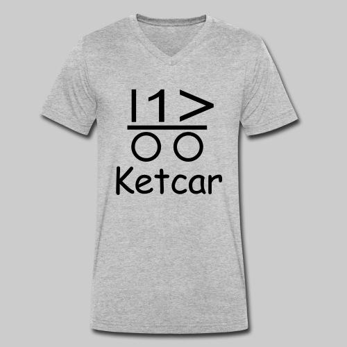 Ketcar - Männer Bio-T-Shirt mit V-Ausschnitt von Stanley & Stella