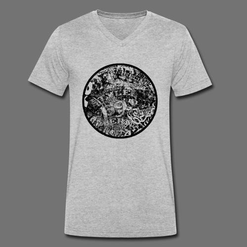 Urban Style black 1C - Männer Bio-T-Shirt mit V-Ausschnitt von Stanley & Stella