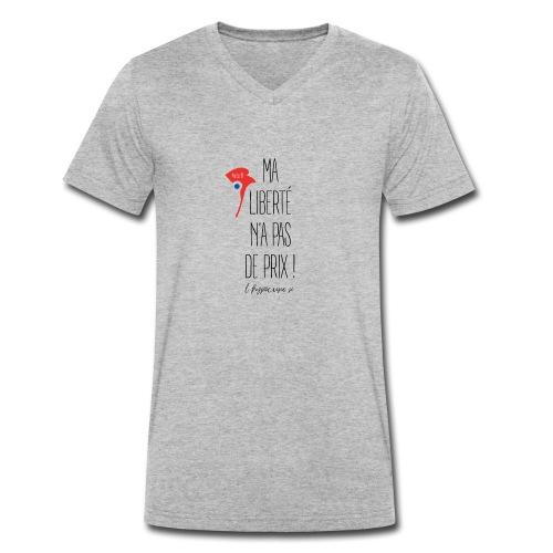 Liberté - T-shirt bio col V Stanley & Stella Homme