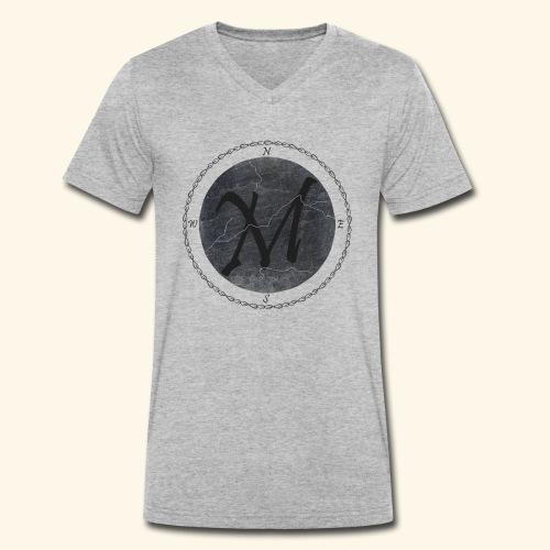 Montis logo2 - Ekologisk T-shirt med V-ringning herr från Stanley & Stella