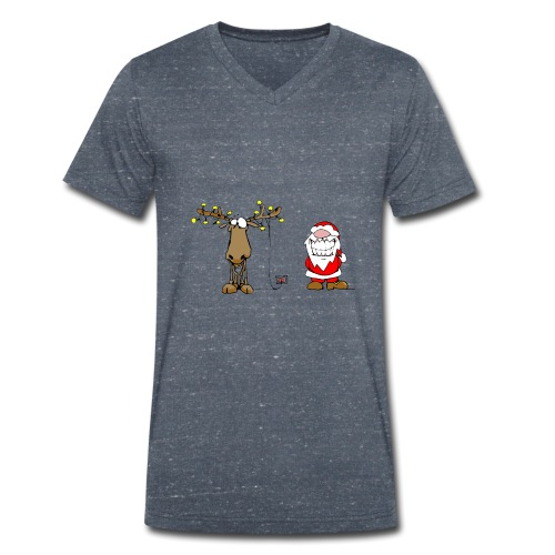 noel branché - T-shirt bio col V Stanley & Stella Homme