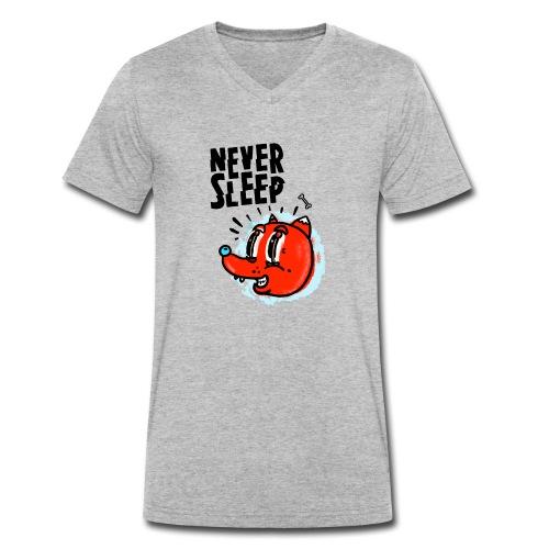 Never Sleep - Männer Bio-T-Shirt mit V-Ausschnitt von Stanley & Stella