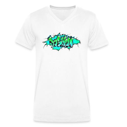 GRAFFITI JOSHUA PRINTABLE WALL BROKE - T-shirt bio col V Stanley & Stella Homme