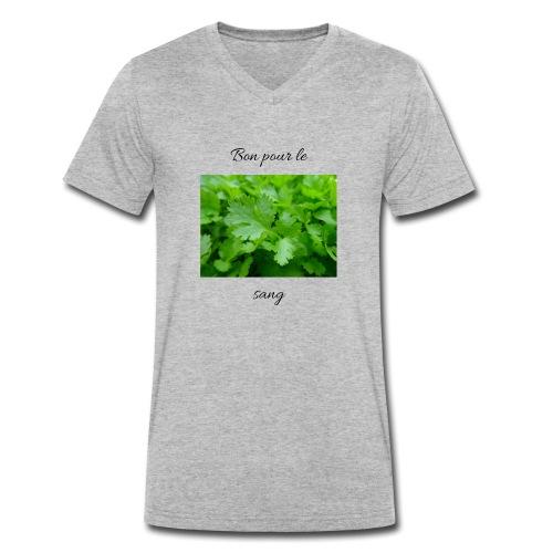 Le persil pour le sang - T-shirt bio col V Stanley & Stella Homme