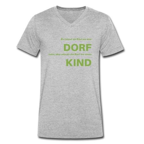 Dorfkind - Männer Bio-T-Shirt mit V-Ausschnitt von Stanley & Stella