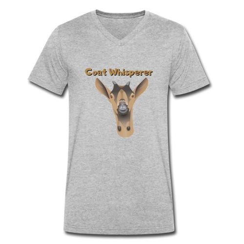 Ziegenflüsterer - Männer Bio-T-Shirt mit V-Ausschnitt von Stanley & Stella