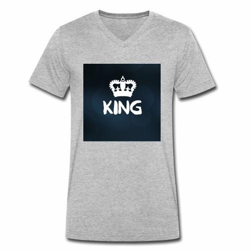 Männer King - Männer Bio-T-Shirt mit V-Ausschnitt von Stanley & Stella