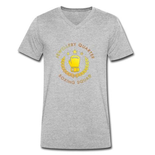 JQ Boxing Squad - Men's Organic V-Neck T-Shirt by Stanley & Stella