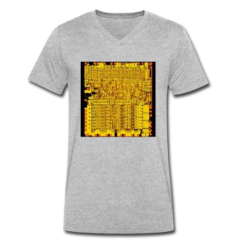 6502 - Männer Bio-T-Shirt mit V-Ausschnitt von Stanley & Stella