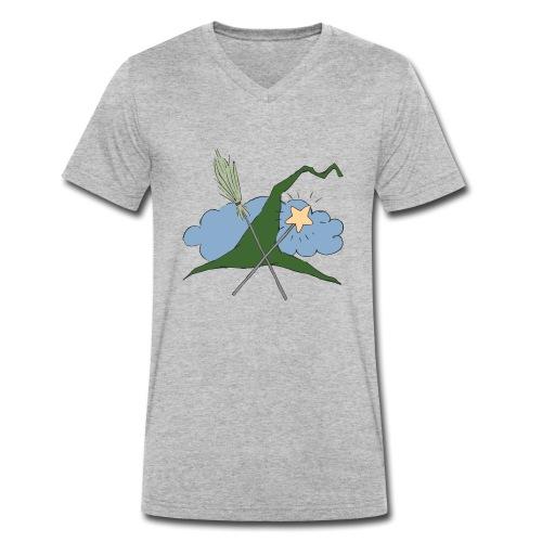 Witch Sign - Männer Bio-T-Shirt mit V-Ausschnitt von Stanley & Stella