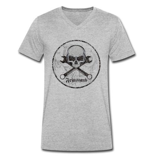 Feinstaub - Männer Bio-T-Shirt mit V-Ausschnitt von Stanley & Stella