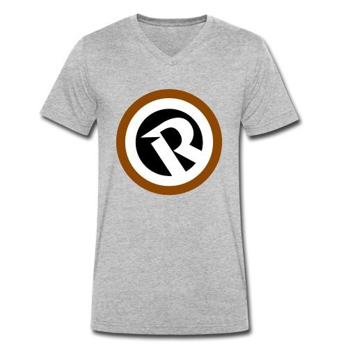 Logo Reborn Coffee 2020 - T-shirt ecologica da uomo con scollo a V di Stanley & Stella