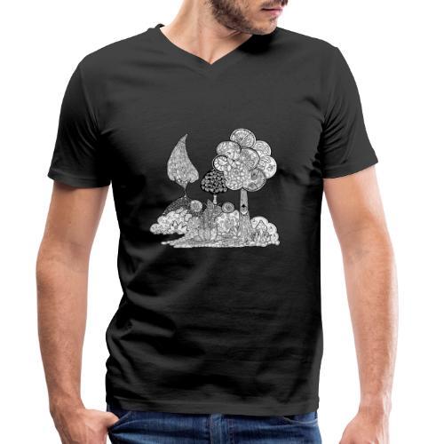 Le jardin d'Elise - T-shirt bio col V Stanley & Stella Homme