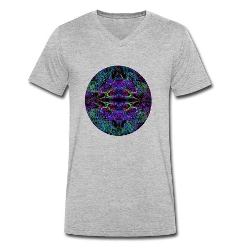 Psychedelic Mandala II - Männer Bio-T-Shirt mit V-Ausschnitt von Stanley & Stella
