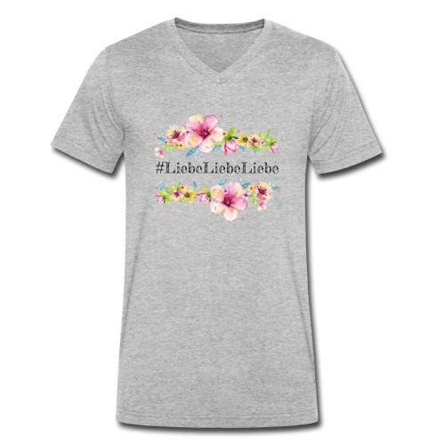 liebeliebeliebe - Männer Bio-T-Shirt mit V-Ausschnitt von Stanley & Stella