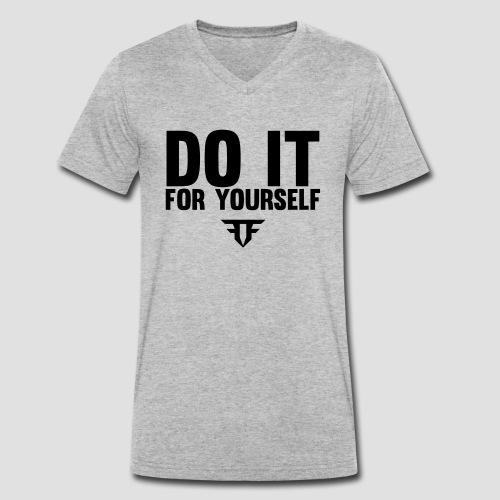 Do It For Yourself - Männer Bio-T-Shirt mit V-Ausschnitt von Stanley & Stella