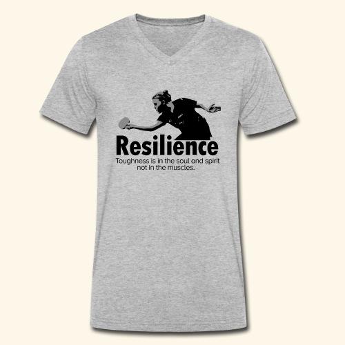 Toughness is in the soul and spirit - Männer Bio-T-Shirt mit V-Ausschnitt von Stanley & Stella