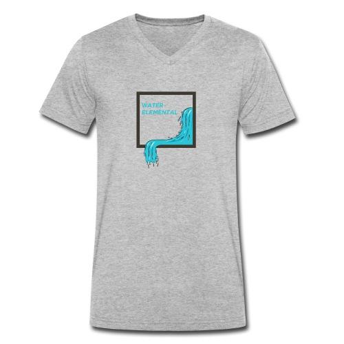 Water Elemental - Männer Bio-T-Shirt mit V-Ausschnitt von Stanley & Stella
