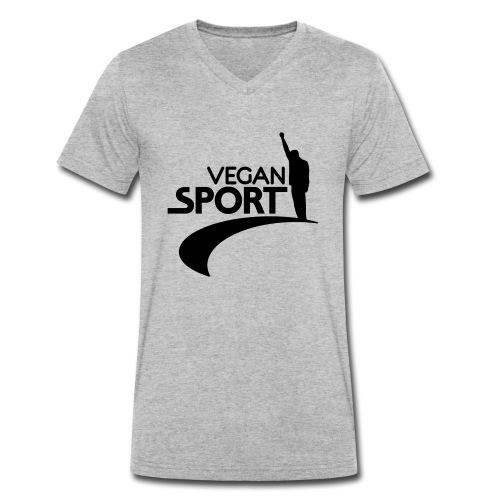 vegansport01_225x225 - Männer Bio-T-Shirt mit V-Ausschnitt von Stanley & Stella