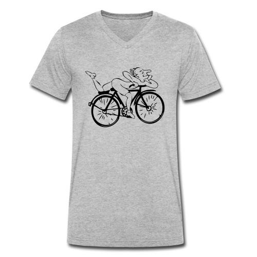 Albert Hofmann - Männer Bio-T-Shirt mit V-Ausschnitt von Stanley & Stella