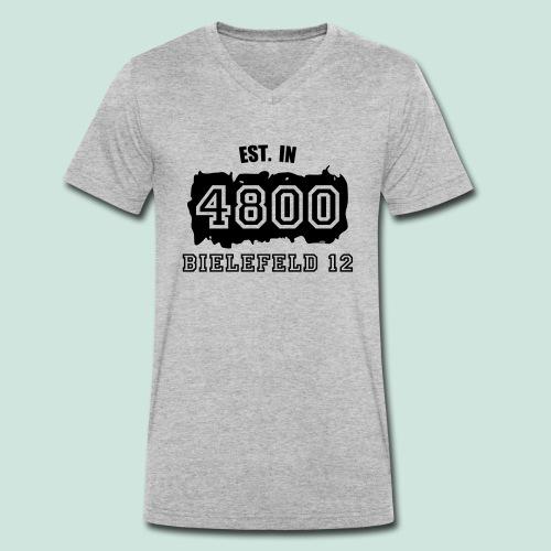 Established 4800 Bielefeld 12 - Männer Bio-T-Shirt mit V-Ausschnitt von Stanley & Stella