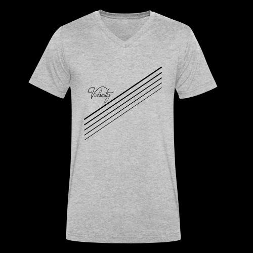 Vielsaitig - Männer Bio-T-Shirt mit V-Ausschnitt von Stanley & Stella