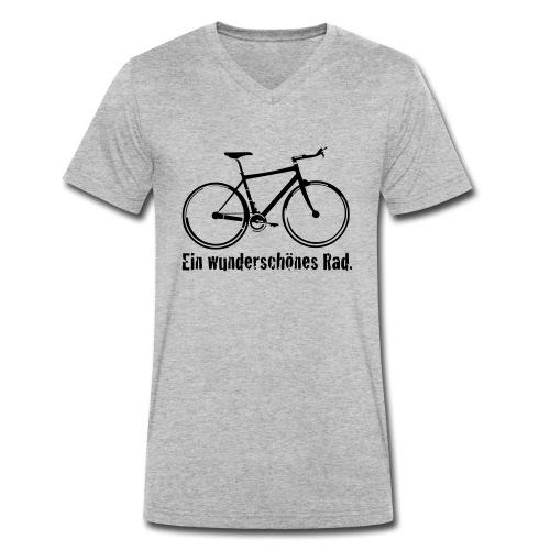 Mein Rad - Männer Bio-T-Shirt mit V-Ausschnitt von Stanley & Stella