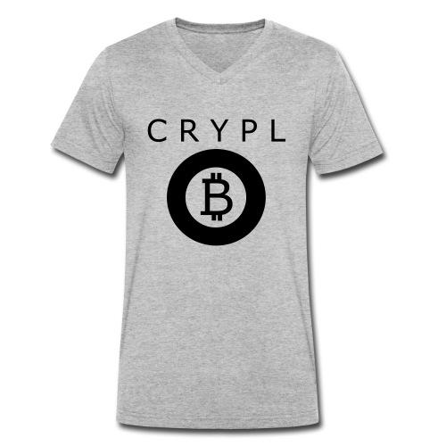 bitcoin freak - Männer Bio-T-Shirt mit V-Ausschnitt von Stanley & Stella