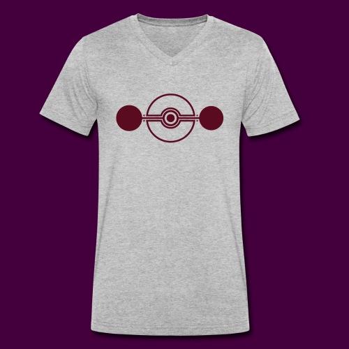 Cropcircle - Kornkreis Cooksplantation - Männer Bio-T-Shirt mit V-Ausschnitt von Stanley & Stella