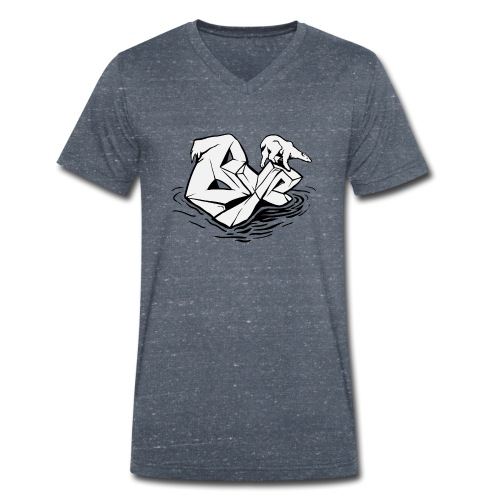 Eisbär - Männer Bio-T-Shirt mit V-Ausschnitt von Stanley & Stella