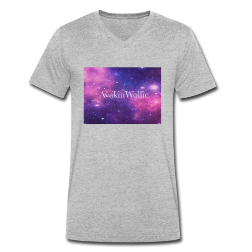 AvakinWolfie 44 - Men's Organic V-Neck T-Shirt by Stanley & Stella