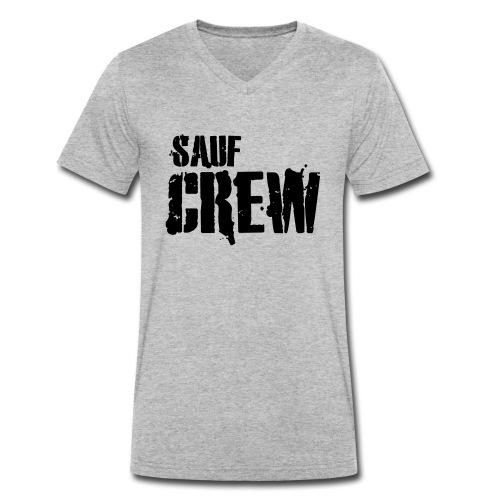 sauf crew - Männer Bio-T-Shirt mit V-Ausschnitt von Stanley & Stella