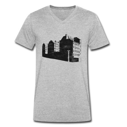 Berlin-Kopenhagener Str - Männer Bio-T-Shirt mit V-Ausschnitt von Stanley & Stella