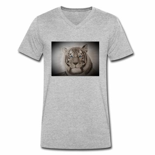 WhiteTiger - Männer Bio-T-Shirt mit V-Ausschnitt von Stanley & Stella