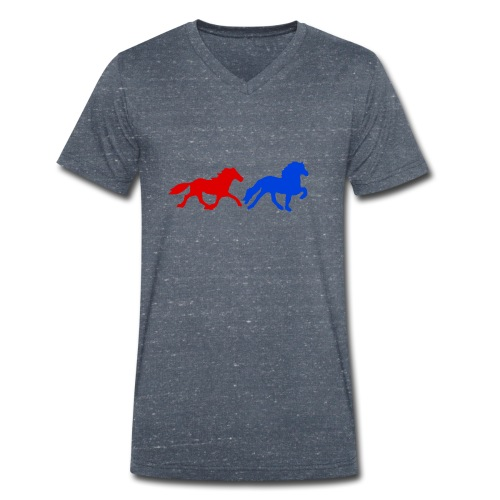 4 und 5-Gänger II - Männer Bio-T-Shirt mit V-Ausschnitt von Stanley & Stella