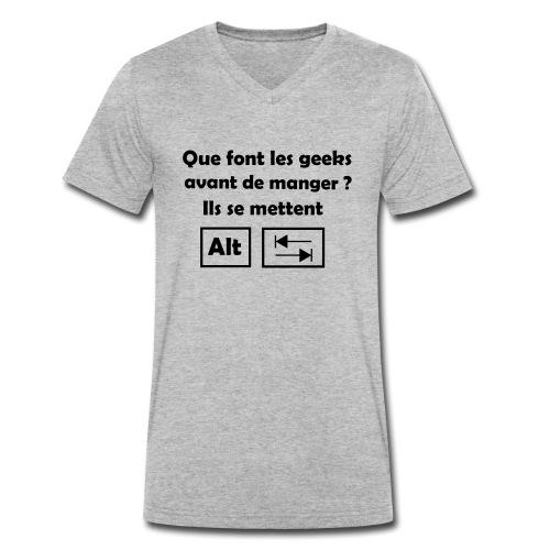 Alt Tab - T-shirt bio col V Stanley & Stella Homme