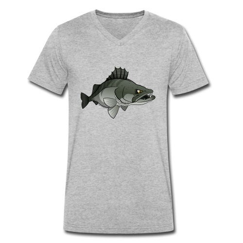 Red River: Zander - Men's Organic V-Neck T-Shirt by Stanley & Stella