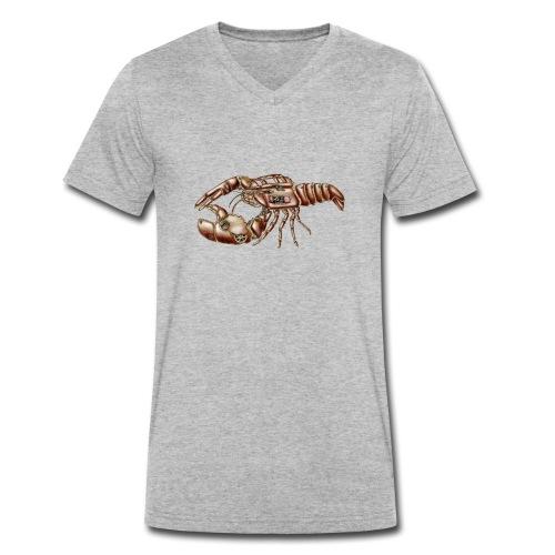 Hummer Steampunk - Männer Bio-T-Shirt mit V-Ausschnitt von Stanley & Stella