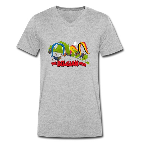 Belgian take off 2019 - T-shirt bio col V Stanley & Stella Homme