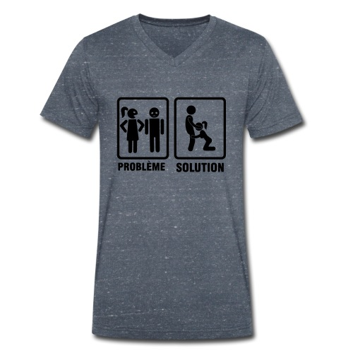 Probleme solution felatio - T-shirt bio col V Stanley & Stella Homme