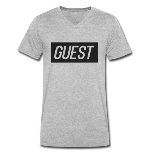 G-rectangle (grey) - Men's Organic V-Neck T-Shirt by Stanley & Stella