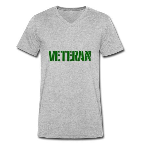 Veteran - Økologisk Stanley & Stella T-shirt med V-udskæring til herrer