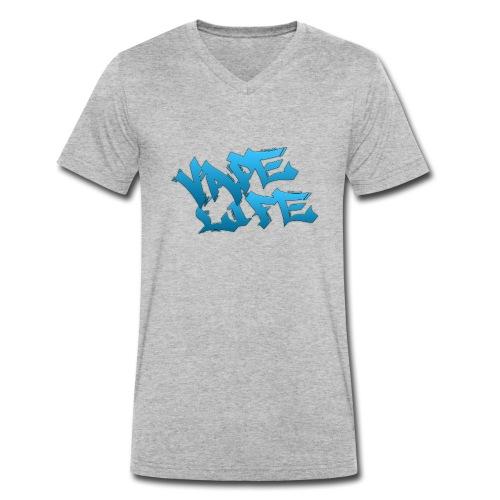 VAPE LIFE - Männer Bio-T-Shirt mit V-Ausschnitt von Stanley & Stella