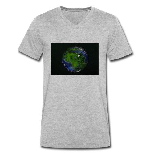 planet - Männer Bio-T-Shirt mit V-Ausschnitt von Stanley & Stella