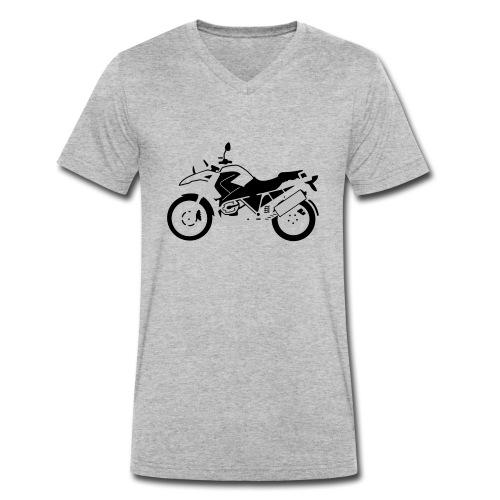 R1200GS 08-on - Men's Organic V-Neck T-Shirt by Stanley & Stella