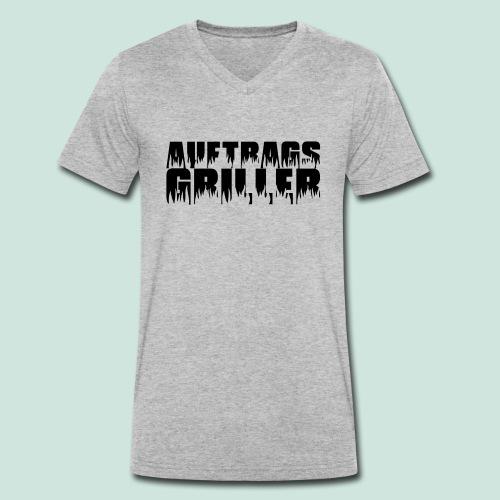 Auftragsgriller - Männer Bio-T-Shirt mit V-Ausschnitt von Stanley & Stella