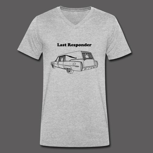 Leichenwagen - Last Responder - Männer Bio-T-Shirt mit V-Ausschnitt von Stanley & Stella