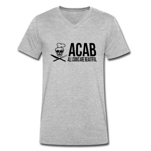 acablang - Männer Bio-T-Shirt mit V-Ausschnitt von Stanley & Stella