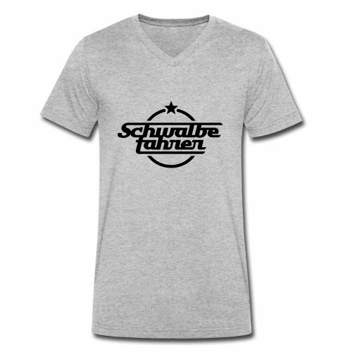 Schwalbefahrer - Men's Organic V-Neck T-Shirt by Stanley & Stella