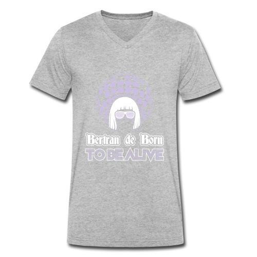 B2B to be Alive - T-shirt bio col V Stanley & Stella Homme